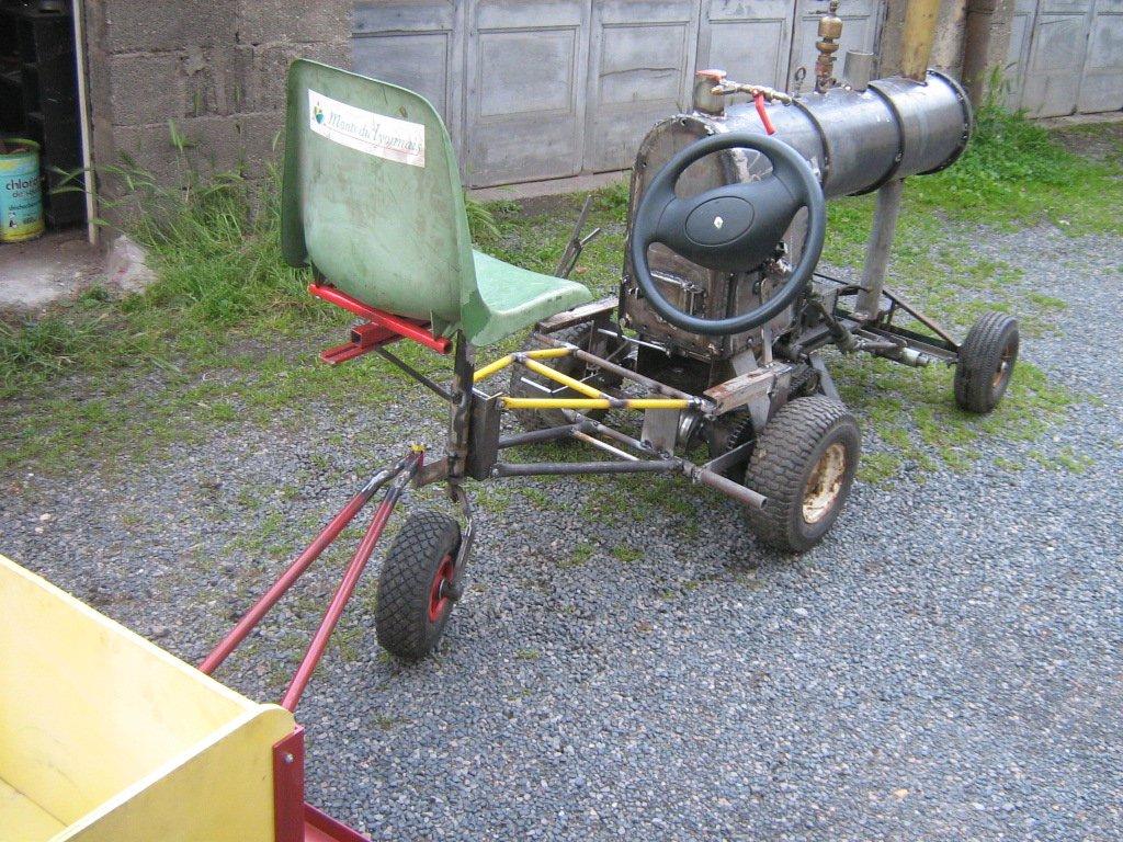 Tracteur moderne vapeur - Fabriquer une guirlande electrique ...